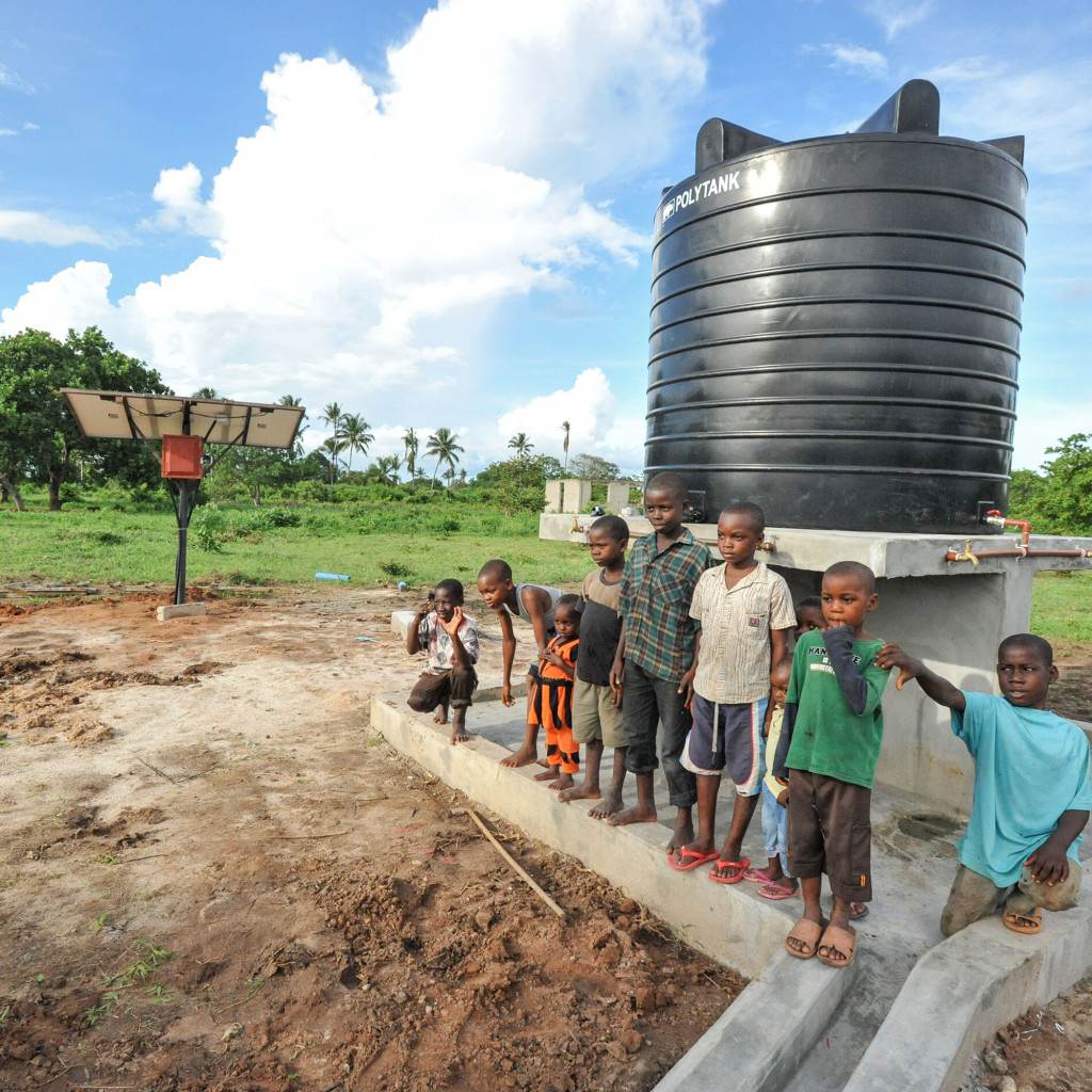 Solar Water Pump Systems Manufactured By Lorentz Panel Circuit The Heads On Fire Community Pumps Deliver To People Livestock And Crops Using Power Of Sun